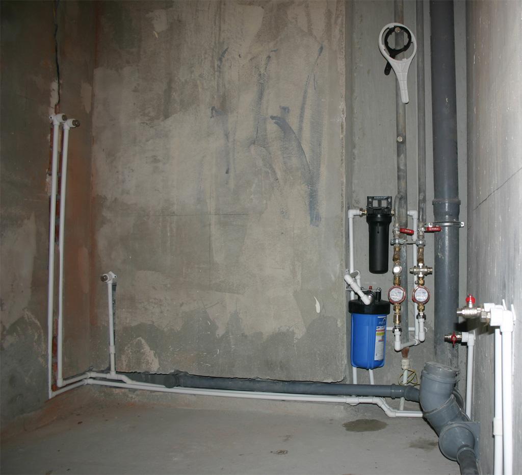 Водопровод в новой квартире